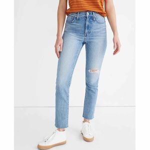 NWT Madewell Perfect Vintage Crop Jeans (size 23)